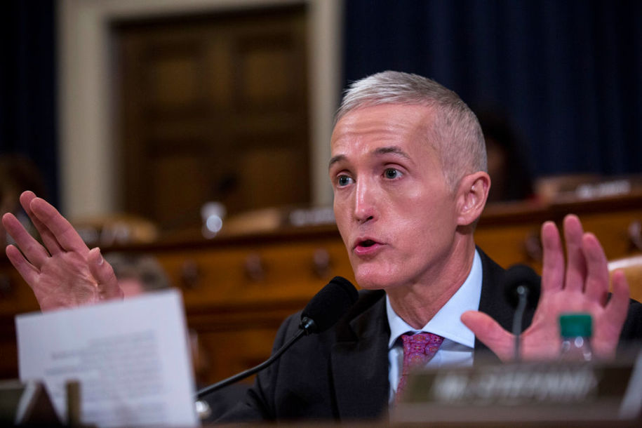 White House saw Trey Gowdy as its impeachment savior—he was better than nothing