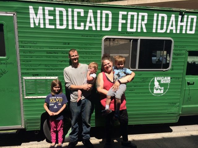 Emergency: Idaho GOP is working to gut Medicaid and destroy direct democracy TOMORROW
