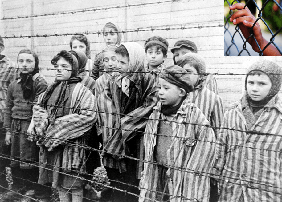 Message to my history teacher, whom I once asked why no one stopped concentration camps: NEVER MIND
