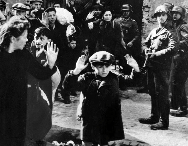 Child With His Hands Up: Interview With a Good German