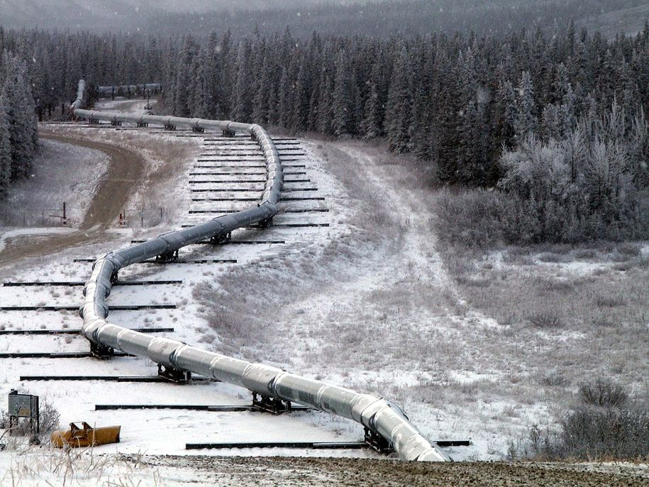 Oil Companies in Alaska Refreeze Melting Permafrost to Keep Drilling