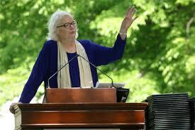 Molly Ivins spricht am Scripps College