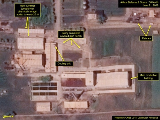 Improvements at Yongbyon Nuclear Research Facility
