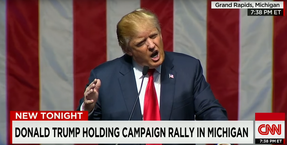 Donald Trump 'shocked' that people listened to him call journalists treasonous disgusting scumbags