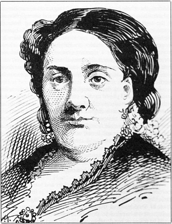 Abortion provider  Ann Lohman (a.k.a. Madame Restell) based on a photograph, 1888. From Recollections of a New York City Chief of Police by George W. Walling.