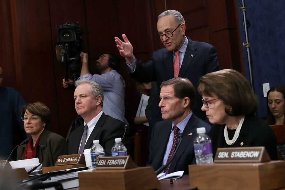 Plan is bubbling up among Senate Democrats for breaking Trump, McConnell on shutdown