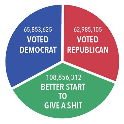How US Voted in 2916