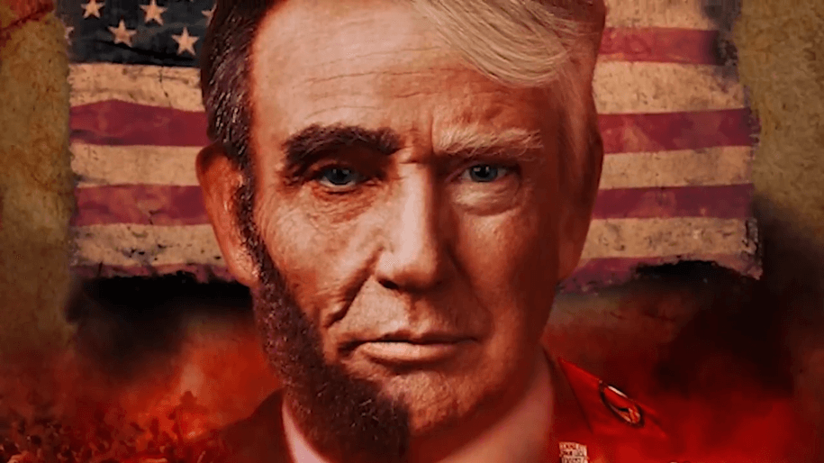 The comical myth of Abraham Lincoln Trump