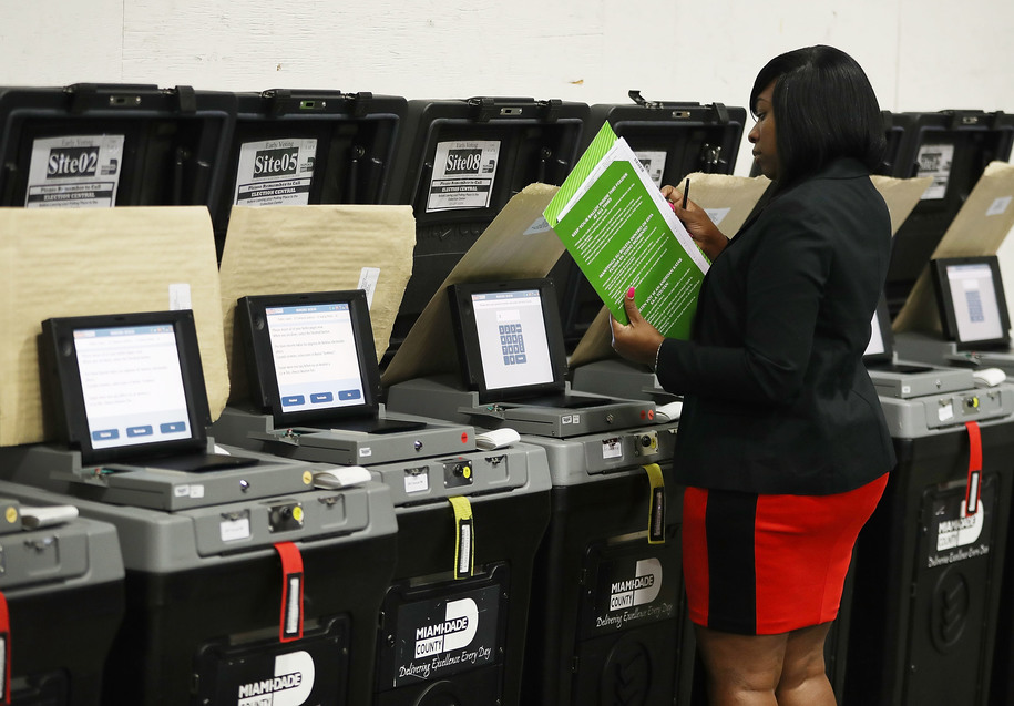 Moscow Mitch received donations from lobbyists for nation's most problematic voting system vendor