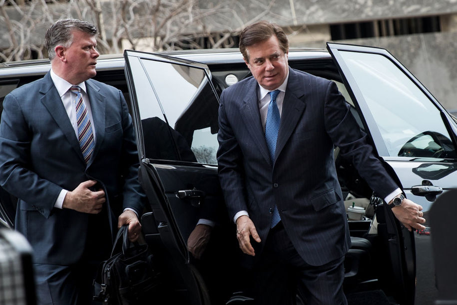 Manafort's court date set for Tuesday