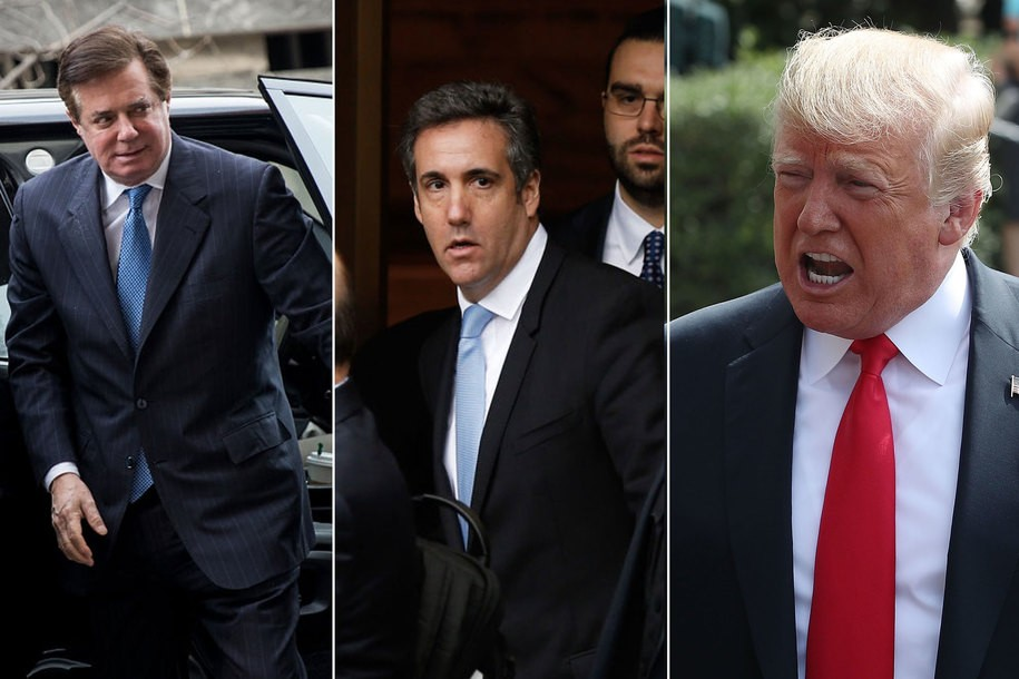 Cohen lied. Manafort lied. Corsi lied. And the bottom is falling out for Donald Trump.