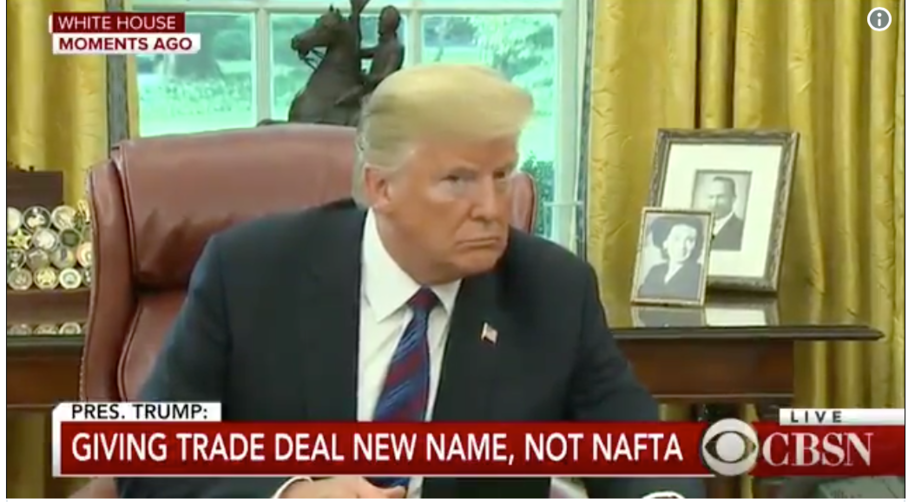 Trump's incompetence on full display as he invited the press to cover his call to Mexico's president