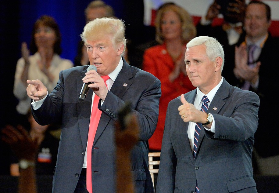 World-class lickspittle Mike Pence heckled at Faith & Freedom event over disloyalty to Trump