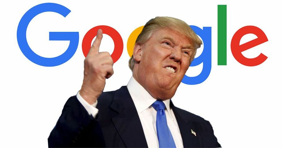 Image result for Google vs Trump