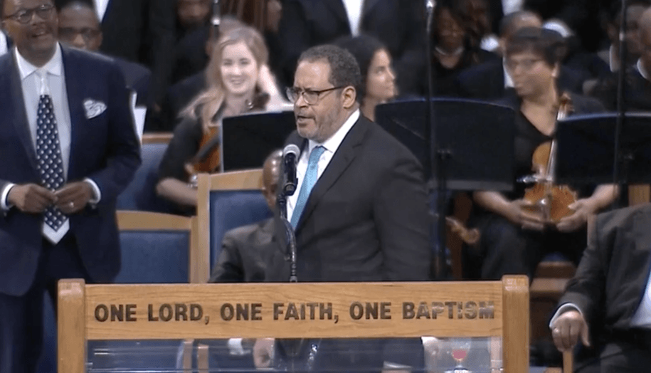 Michael Eric Dyson just dragged the sh*t out of Trump on live television