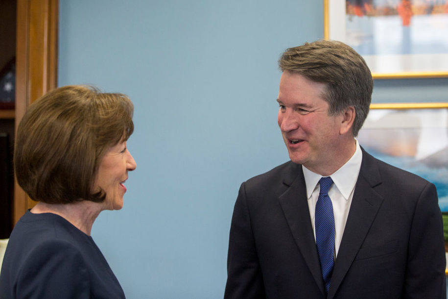 So, Sen. Collins, about that 'thorough investigation' into Brett Kavanaugh's abusive past...