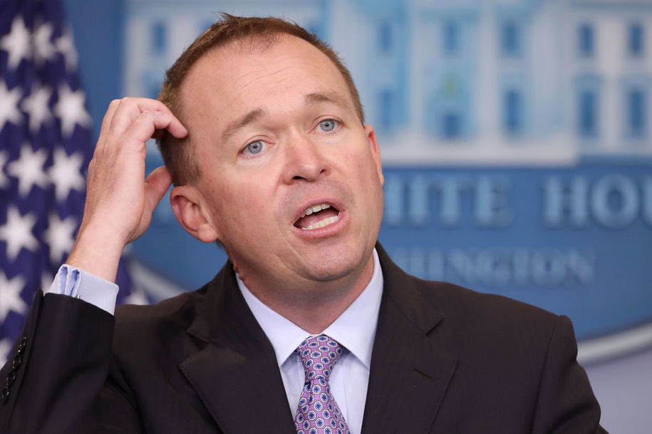 Mulvaney unequivocally refutes Mulvaney on Ukraine