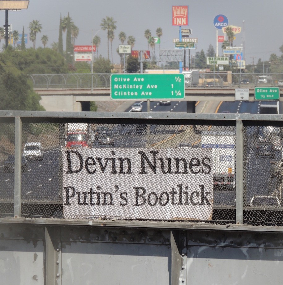 No one publishes scurrilous insults of Devin Nunes