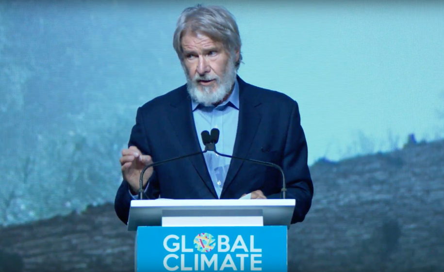 Harrison Ford's emotional climate plea: 'Stop giving power to people who don't believe in science!'