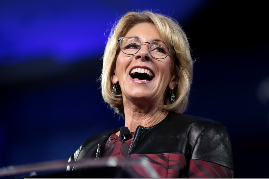 High school journalists pen viral editorial after being turned away from Betsy DeVos event