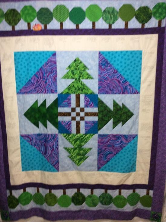 Eclectablog's quilt top