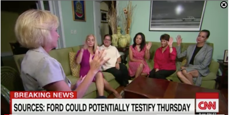 Twitter users tear apart CNN's panel with 'average' Republican women discussing Kavanaugh