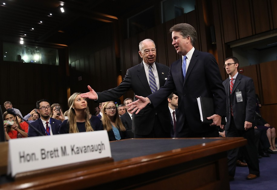 Senate Republicans say they want a fair process on Kavanaugh, but their actions speak louder