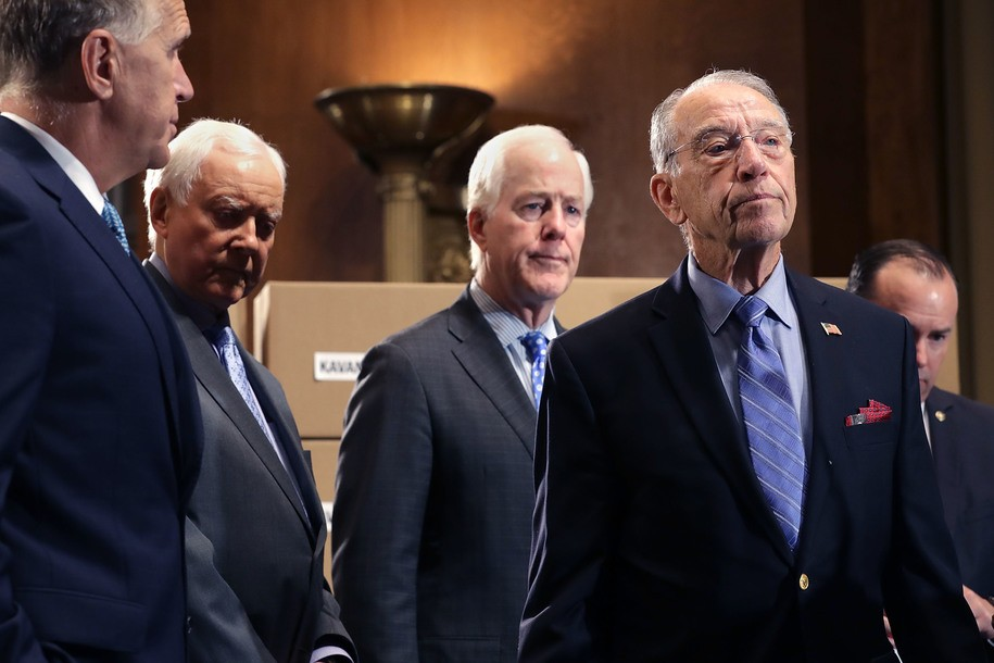 Christine Blasey Ford's lawyer blasts Senate Republicans for efforts to rig Thursday's hearing