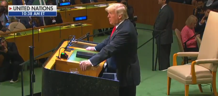 World laughs at Trump as he opens his UN speech with bragging