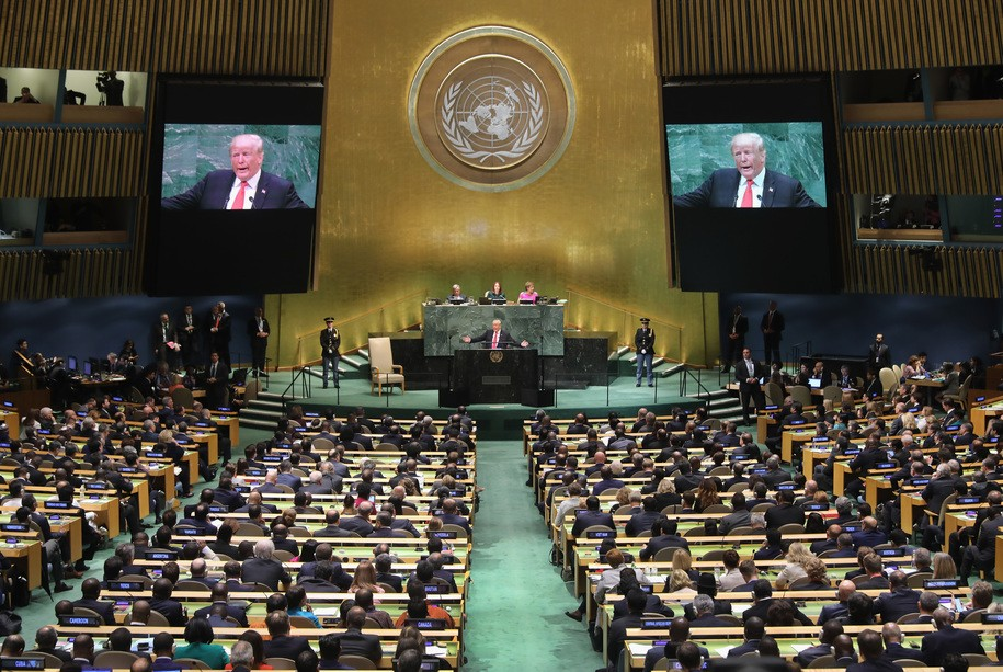 Trump's speech to the UN defines an isolationist, neo-fascist agenda