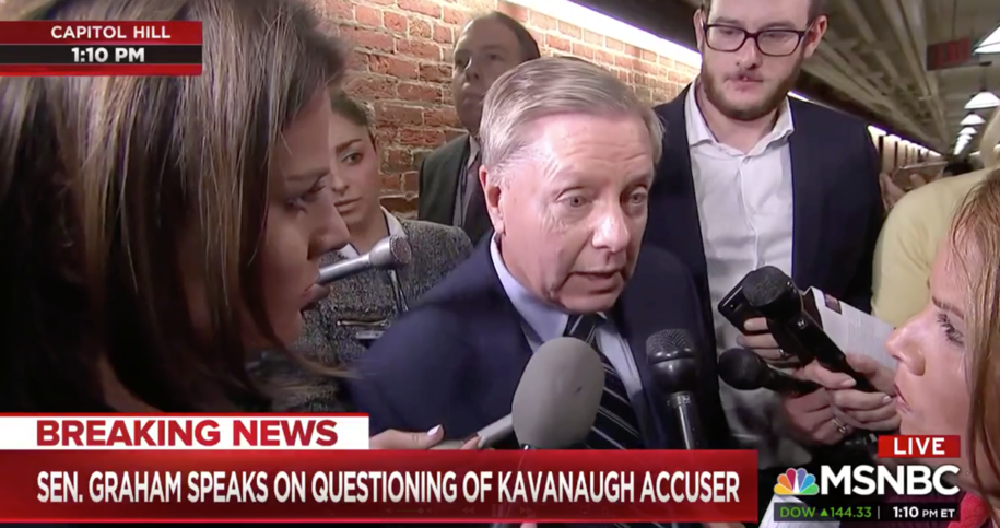 Sen. Lindsey Graham threatens character hit jobs against Democratic nominees for court