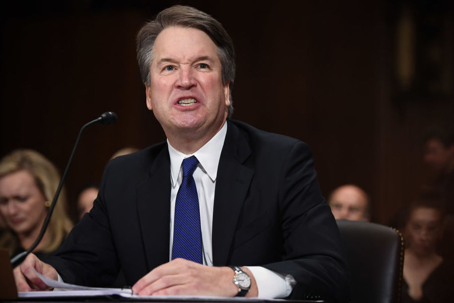 New York Times describes `a penis in the face` as `harmless fun` in tweet promoting Kavanaugh story