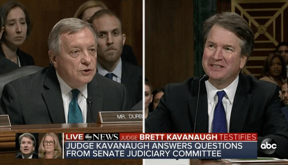 Sen. Durbin asks Brett Kavanaugh why he won't ask for investigation: 'Are you afraid?'