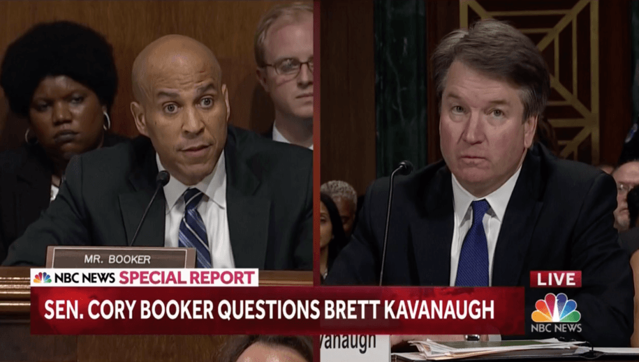Sen. Booker cuts to the point: Who cares if Democrats are political—Ford is 'telling her truth'
