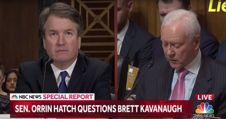 Here is an eight-minute roundup of all the times Brett Kavanaugh perjured himself