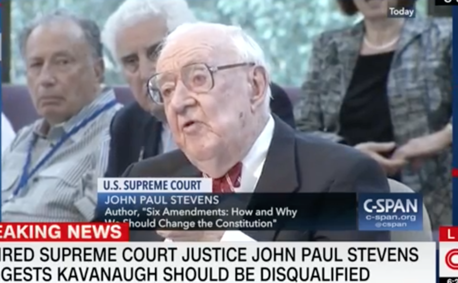Former Supreme Court Justice, lifelong Republican says Kavanaugh's testimony should disqualify him