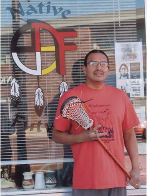 Edison Red Nest III, founder of Native Futures and Native Dreams,