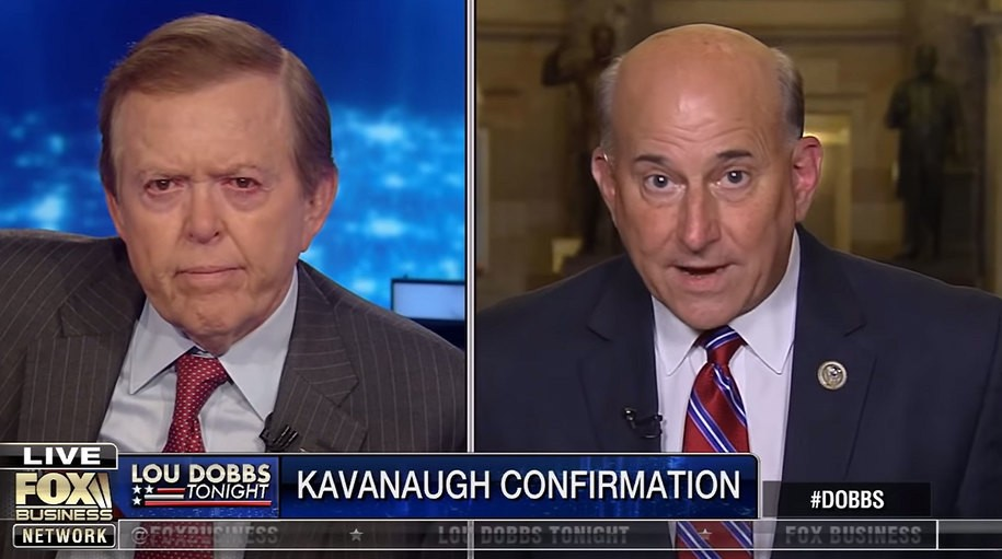 During insane interview, Republican Rep. Louie Gohmert says Democrats should yell 'Heil Soros!'