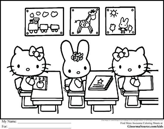 Best Of Back To School Coloring Page Hello