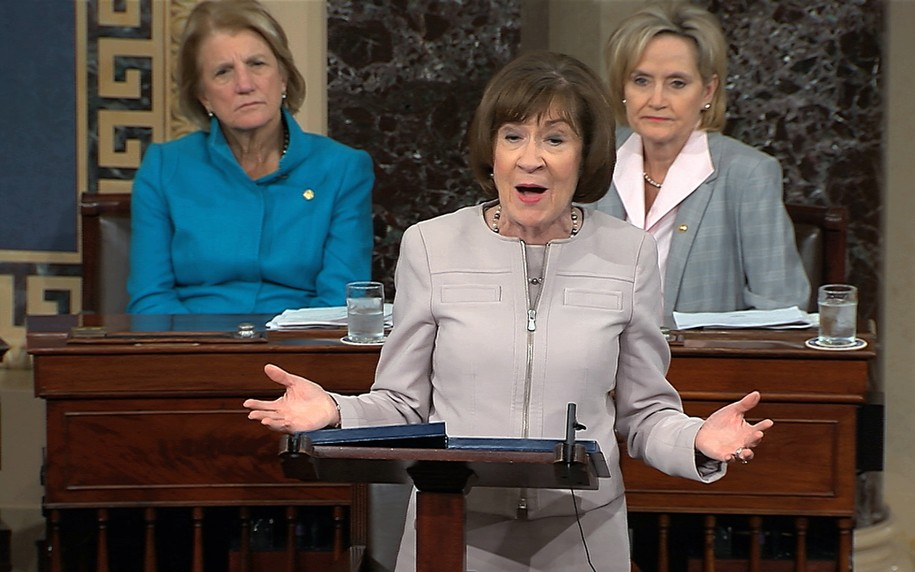 There's a lesson for Susan Collins to learn in her plummeting polls