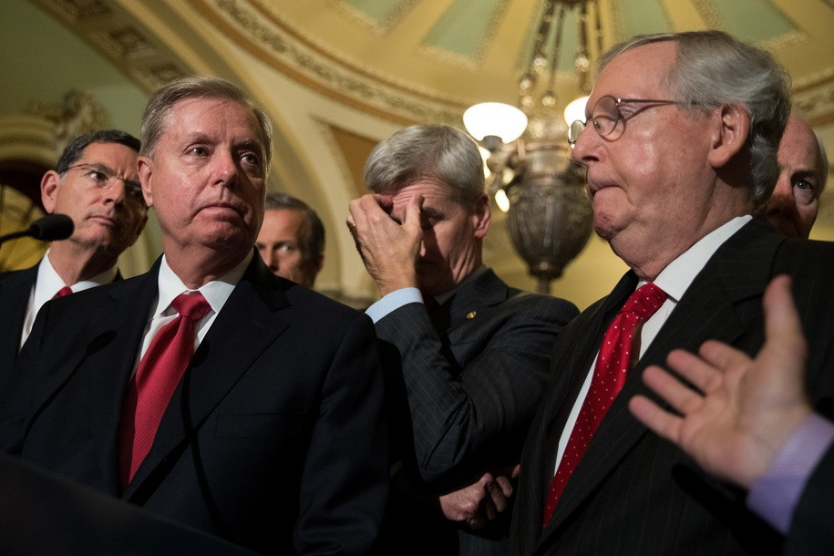 Really, Mitch McConnell? You're going to promise Obamacare repeal now? Thanks!
