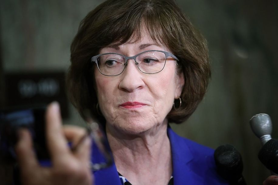Portland Maine Resident Takes Out Full Page Ad in Portland Press Herald To School Susan Collins.