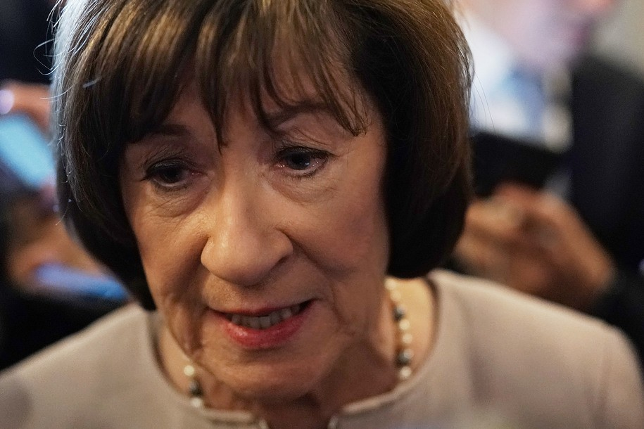 Susan Collins calls Mueller report an 'unflattering portrayal' of Trump; oh ... burn ... please stop