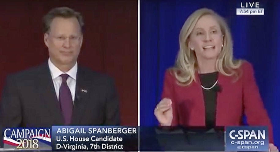 What's my name? Former CIA officer, now Democratic candidate levels Trump-backed Brat in debate