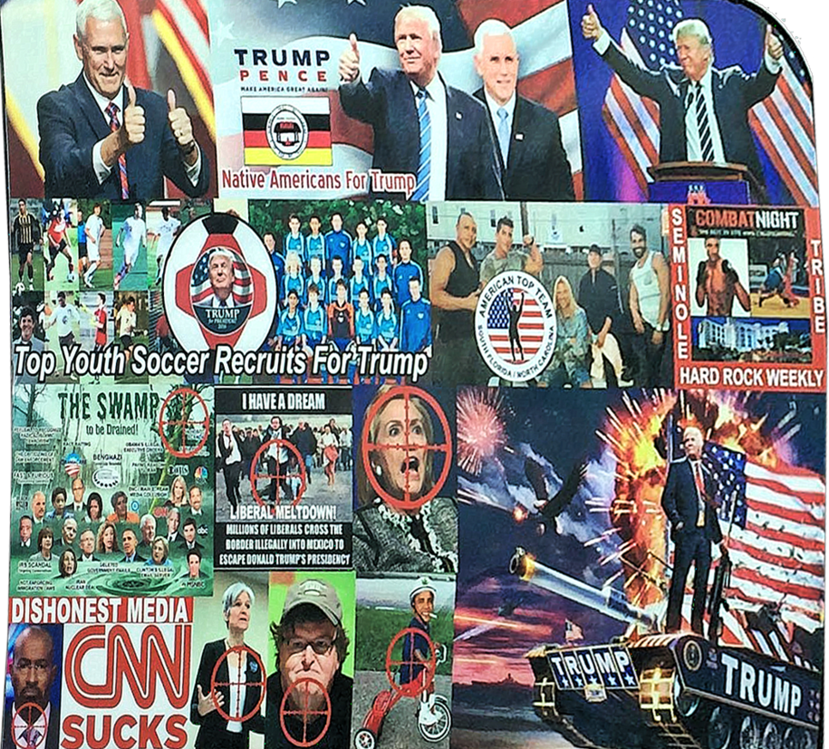 Warriors for Trump: #MAGAbomber's letter reveals how the right's scripted violence works