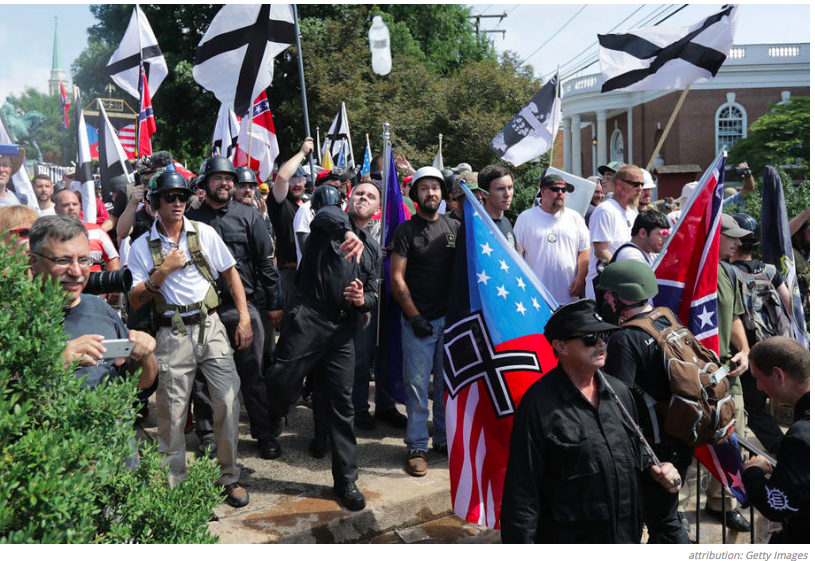 Neo-Nazis Feel at Home in Trump's GOP