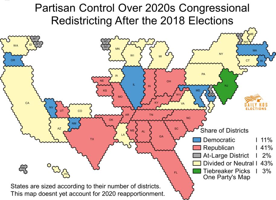 Democrats make major inroads against GOP gerrymandering, but the GOP still holds a big edge for 2020