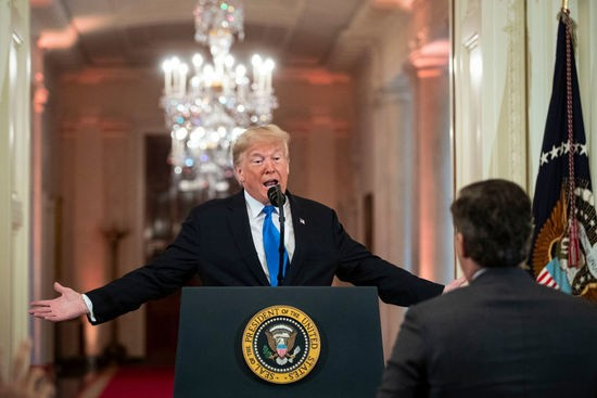 Cnn Sues The White House Over Shutting Out Reporter Jim Acosta