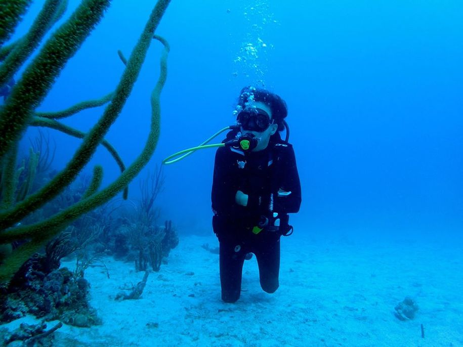 Forget the holidays: Go SCUBA diving in Puerto Rico