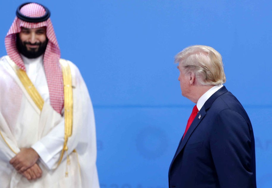 Jared Kushner's friend Mohammed bin Salman celebrates Easter Week with a real crucifixion